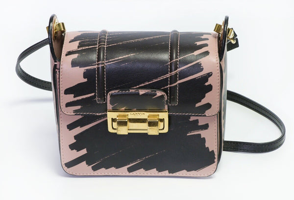 LANVIN Jiji Graffiti Crossbody Bag