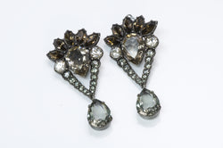 Lanvin Crystal Earrings