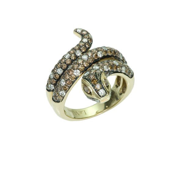 Le Vian Diamond Gold Snake Ring