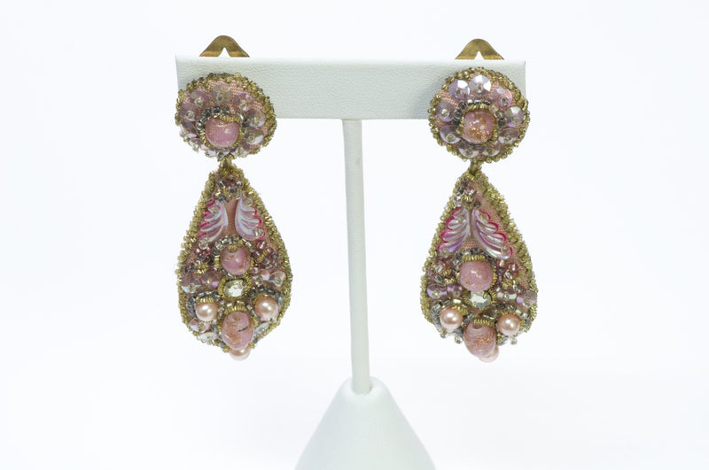 Leni Kuborn-Grothe Kitzbuhel Long Earrings