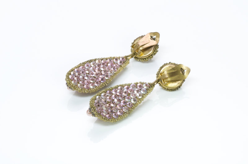 Leni Kuborn-Grothe Kitzbuhel Pink Earrings