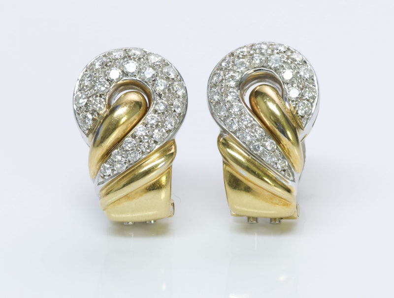 Leo Pizzo Gold & Diamond Earrings