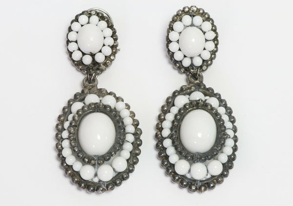 Louis Rousselet Glass Beads Earrings
