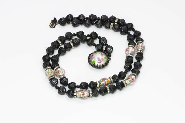 Louis Rousselet Paris Glass Beads Necklace
