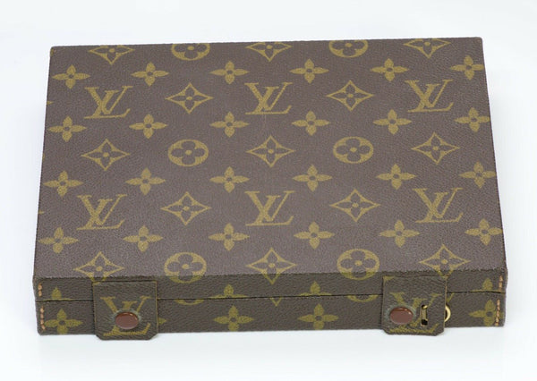 Louis Vuitton LV Paris Trousse Bijoux Jewelry Trunk Box Case