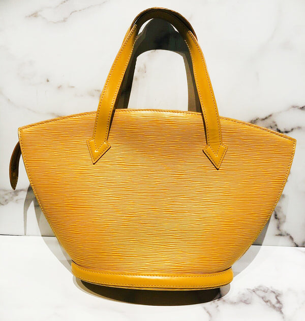 Louis Vuitton LV Saint Jacques Epi Yellow PM Bag 2