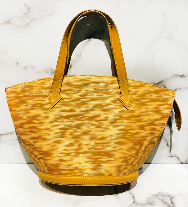 Louis Vuitton LV Saint Jacques Epi Yellow PM Bag