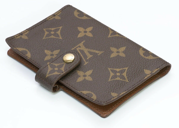 Louis Vuitton Paris LV Monogram Agenda Cover