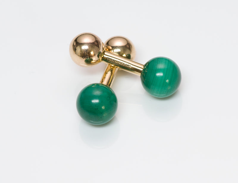 Tiffany & Co. Malachite Cufflinks