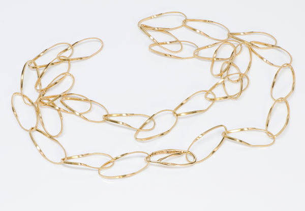 Marco Bicego 18 Yellow Gold Chain Necklace