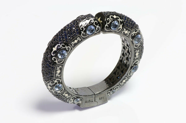 Matthew Campbell Laurenza Topaz Bangle Bracelet.