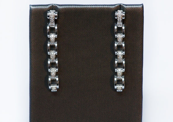 Mauboussin 18K Gold & Diamond Earrings