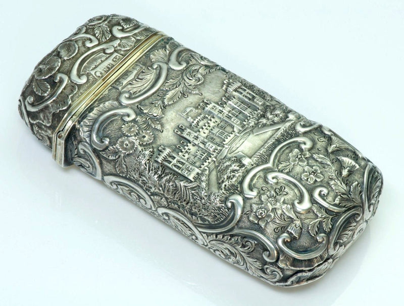 Nathaniel Mills Antique Silver Cigar Case-Box 1