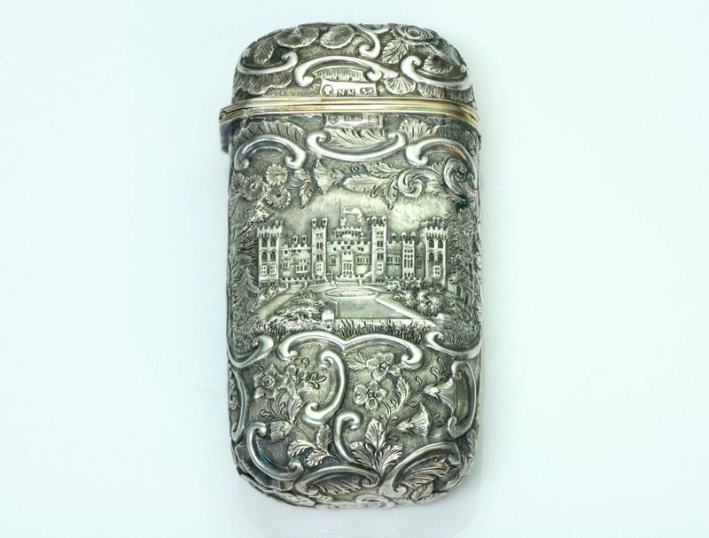 Nathaniel Mills Antique Silver Case