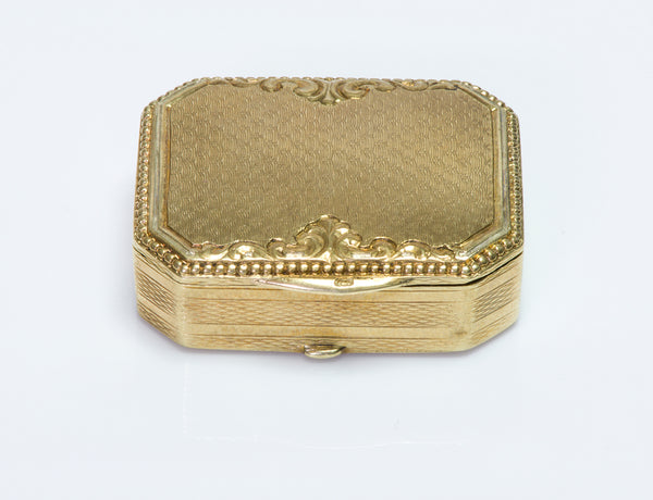 Antique Miniature Gold Box
