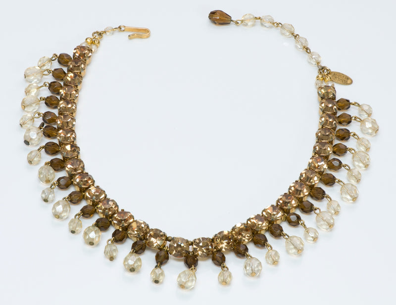 Miriam Haskell Crystal Necklace