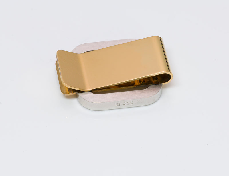 Must de Cartier Gold Plate Money Clip