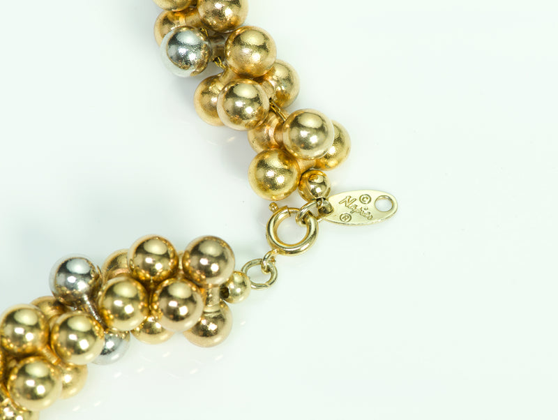 Napier Vintage Gold Tone Necklace