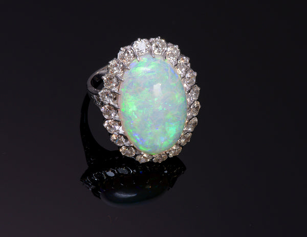 Opal Diamond Ring 1