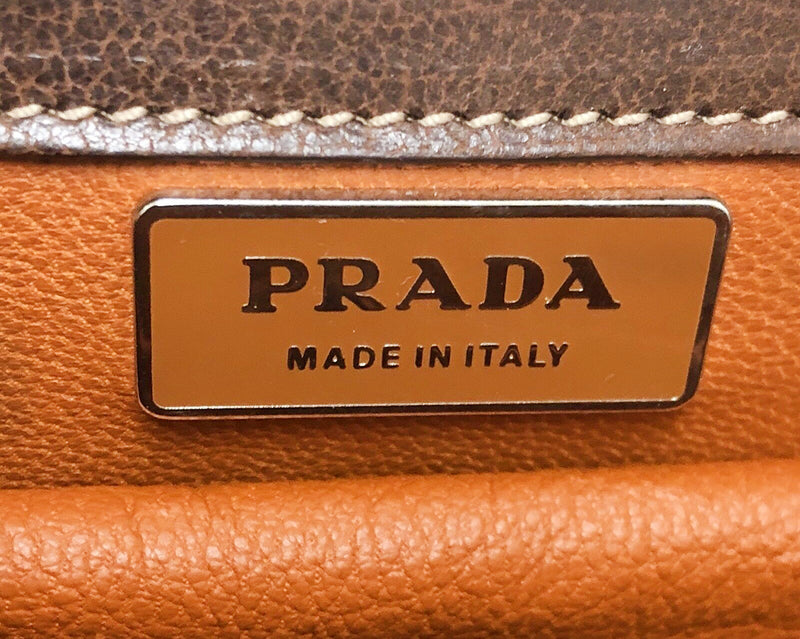 PRADA Madras Cerniera Bag