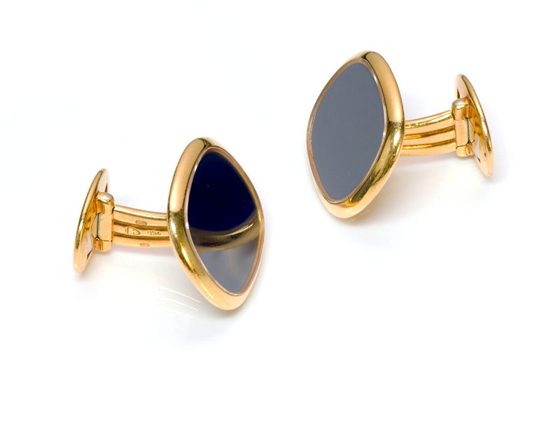 Patek Philippe Ellipse Gold Cufflinks