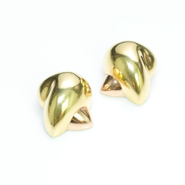 Patricia Von Musulin 18K Yellow & Rose Gold Earrings