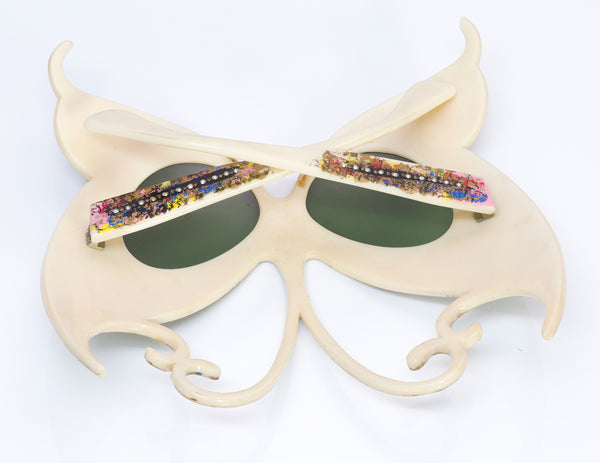 Paulette Guinet Paris 1950's Butterfly Sunglasses 1