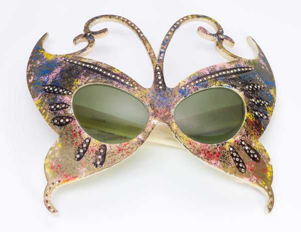 Paulette Guinet Paris 1950's Butterfly Sunglasses