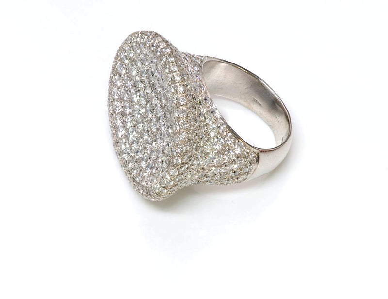 Pave Diamond Gold Ring by Zydo