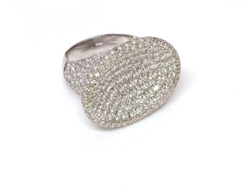 Zydo Pave Diamond Gold Ring