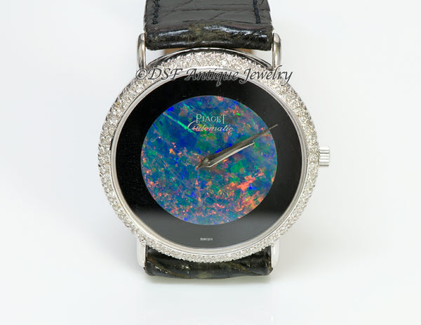 Piaget Black Opal 18K Gold Diamond Watch1