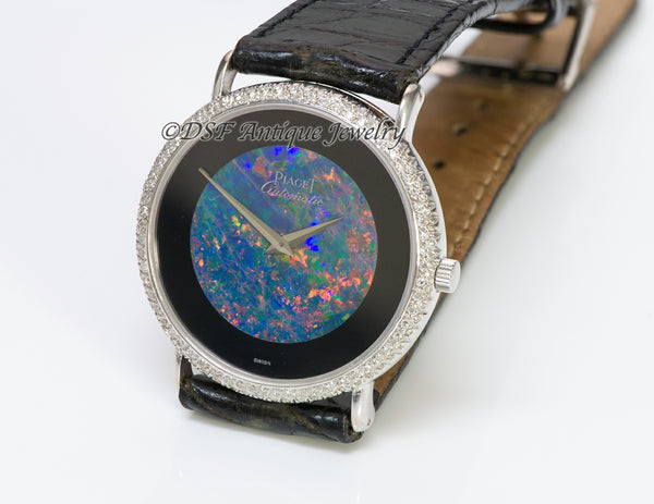 Piaget Black Opal 18K Gold Diamond Watch