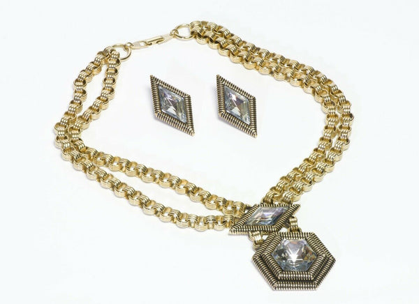 Pierre Cardin Necklace Earrings Set