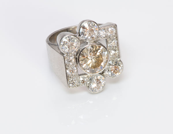 Diamond Platinum Ring-1