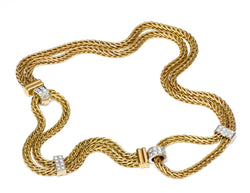 Pomellato Gold & Diamond Necklace