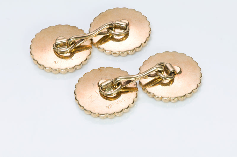 Tiffany & Co. Yellow Gold Cufflinks vintage