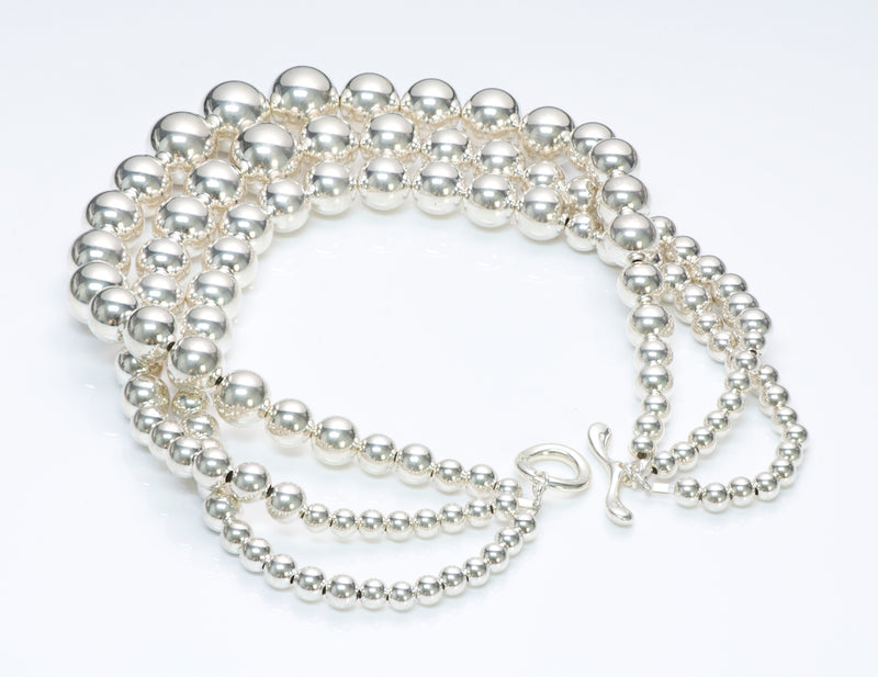 RLM Silver Bead Necklace
