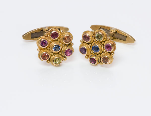 Reinstein Ross 22K Gold Cufflinks