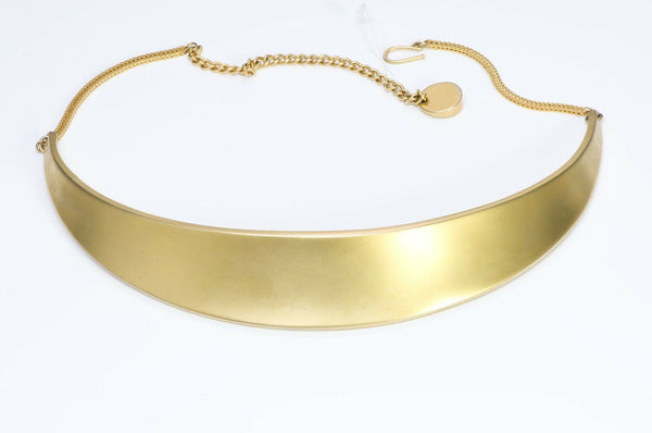Robert Lee Morris for Donna Karan DKNY Gold Plate Belt