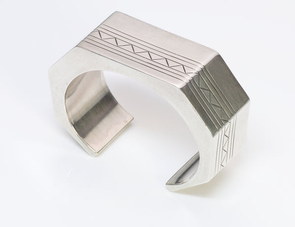 Sam W. Graves Sterling Cuff Bracelet