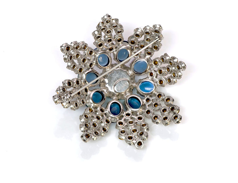 Arnold Scaasi Couture Brooch