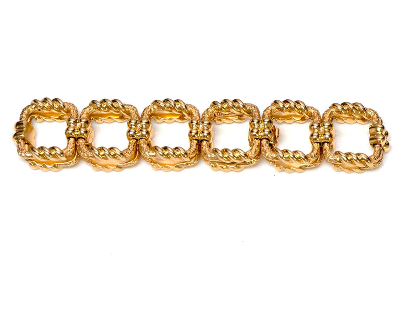 Tiffany & Co. Gold Bracelet by Schlumberger