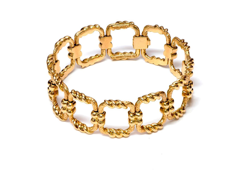 Vintage Tiffany & Co. Schlumberger Gold Bracelet