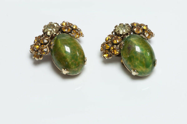 Schreiner New York Glass Earrings