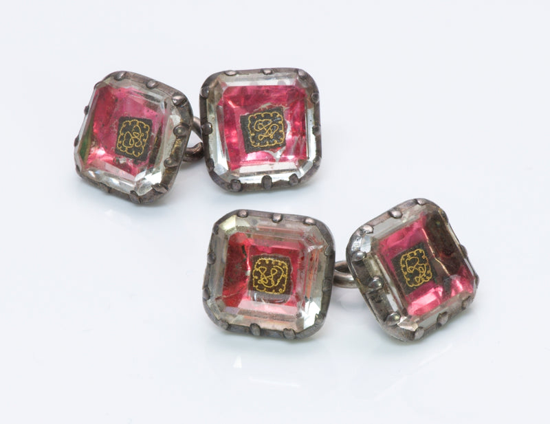 Antique 18th Century Silver Cufflinks