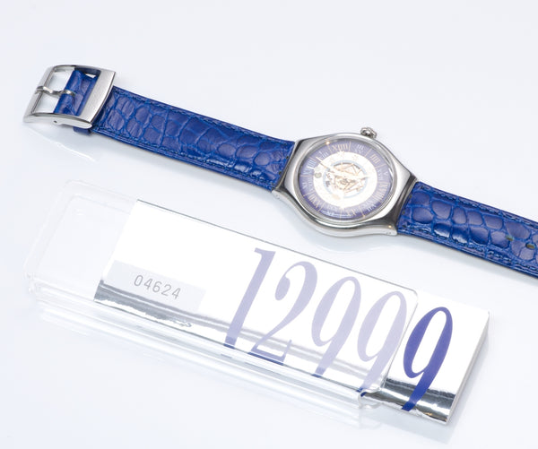Swatch Tresor Magique Platinum Watch Set