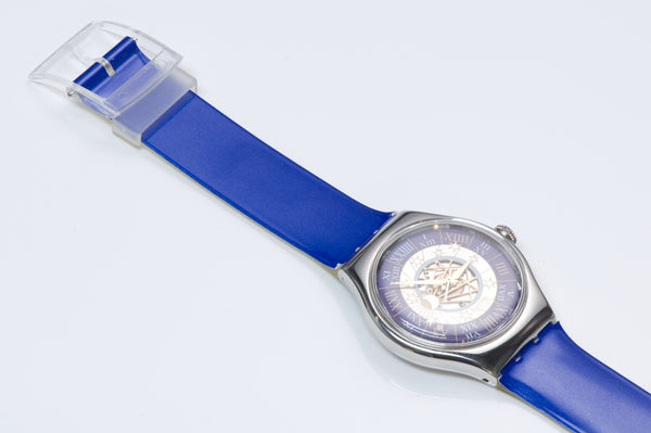 Swatch Tresor Magique Platinum Watch