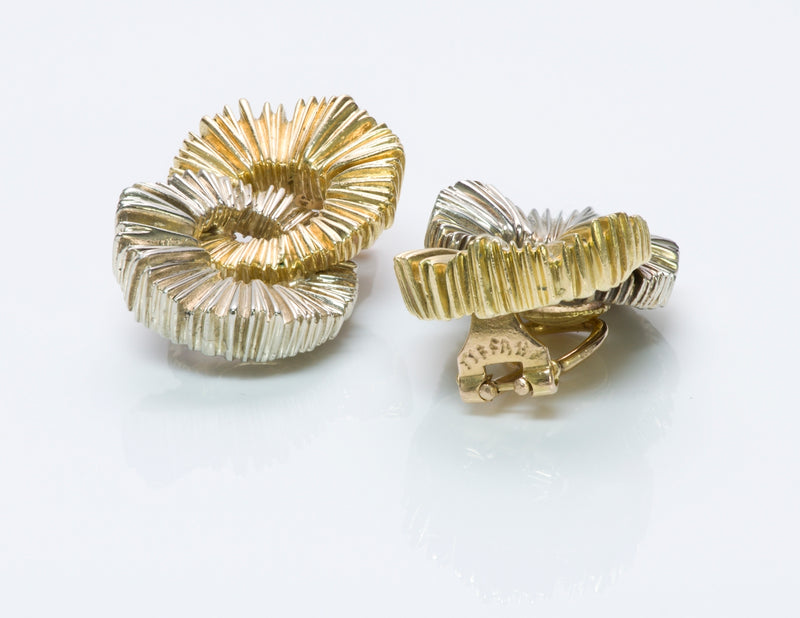 Tiffany & Co. Fluted Gold Earrings