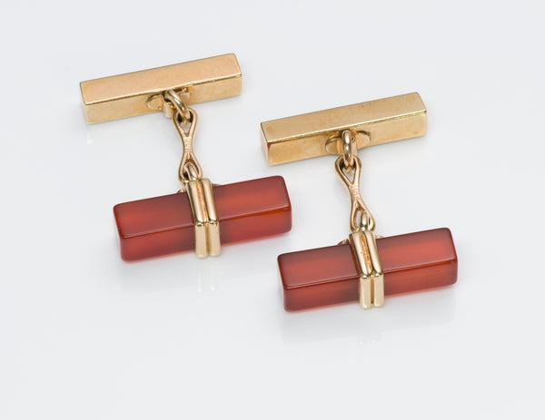 Tiffany & Co. Carnelian Cufflinks
