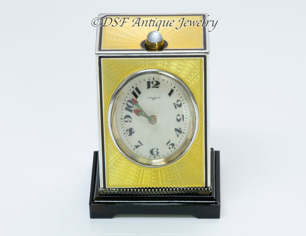 Tiffany & Co. Enamel Repeater Clock